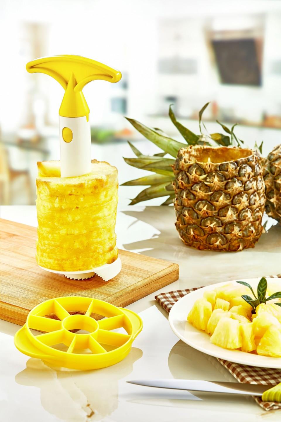 Ananas Soyucu ve Dilimleyici